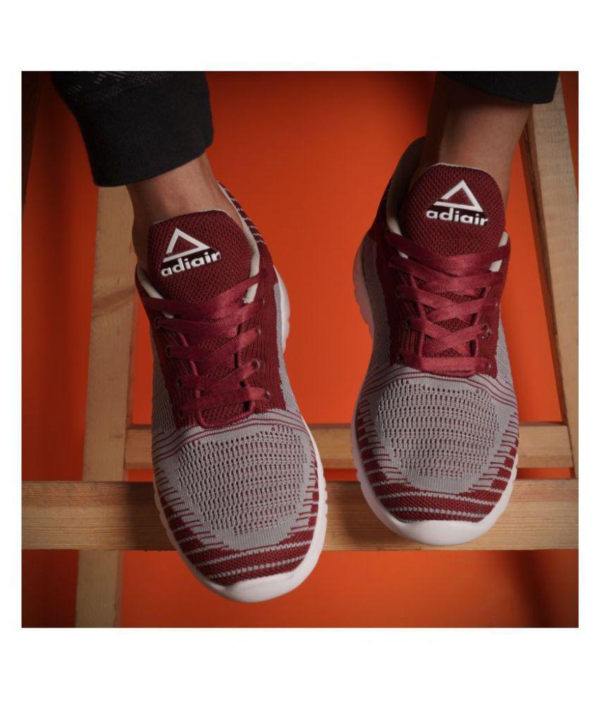 ADIAIR na Running Shoes Maroon