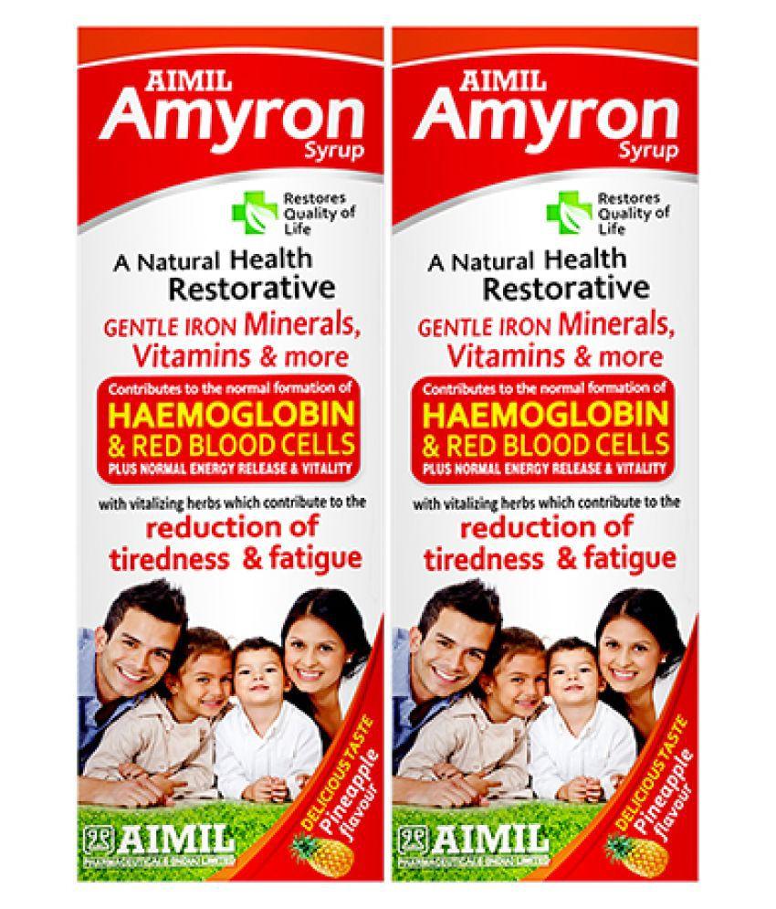 Aimil Amyron Multivitamins for Men & Women Liquid 200 ml Pack Of 2