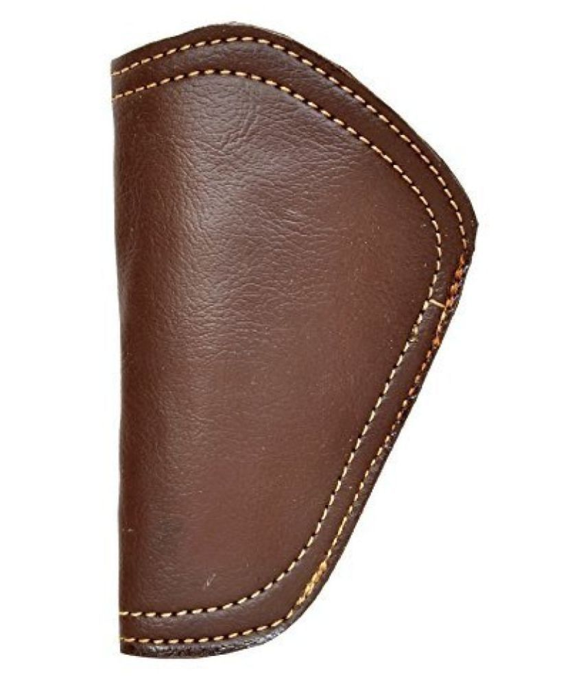 Schieben Innovations Leather .32 Bore Brown Free Size Inner Clip Cover