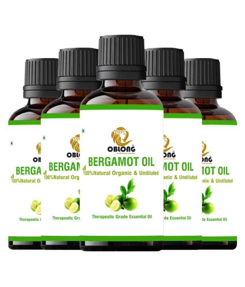 Oblong BERGAMOT OIL Essential Oil 50 mL