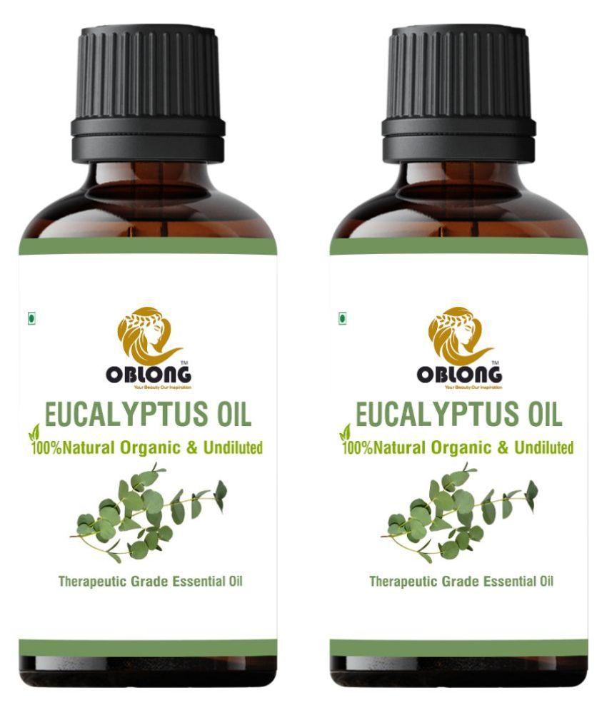 Oblong EUCALYPTUS Essential Oil 20 mL