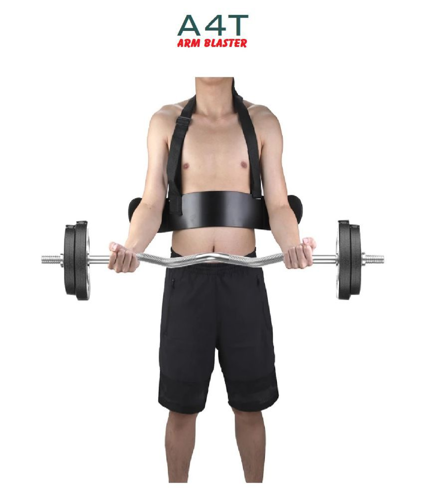 A4T Arm Blaster For Bicep Triceps Support Bicep Curl Muscle Bomber For Increase Muscle Strength Training