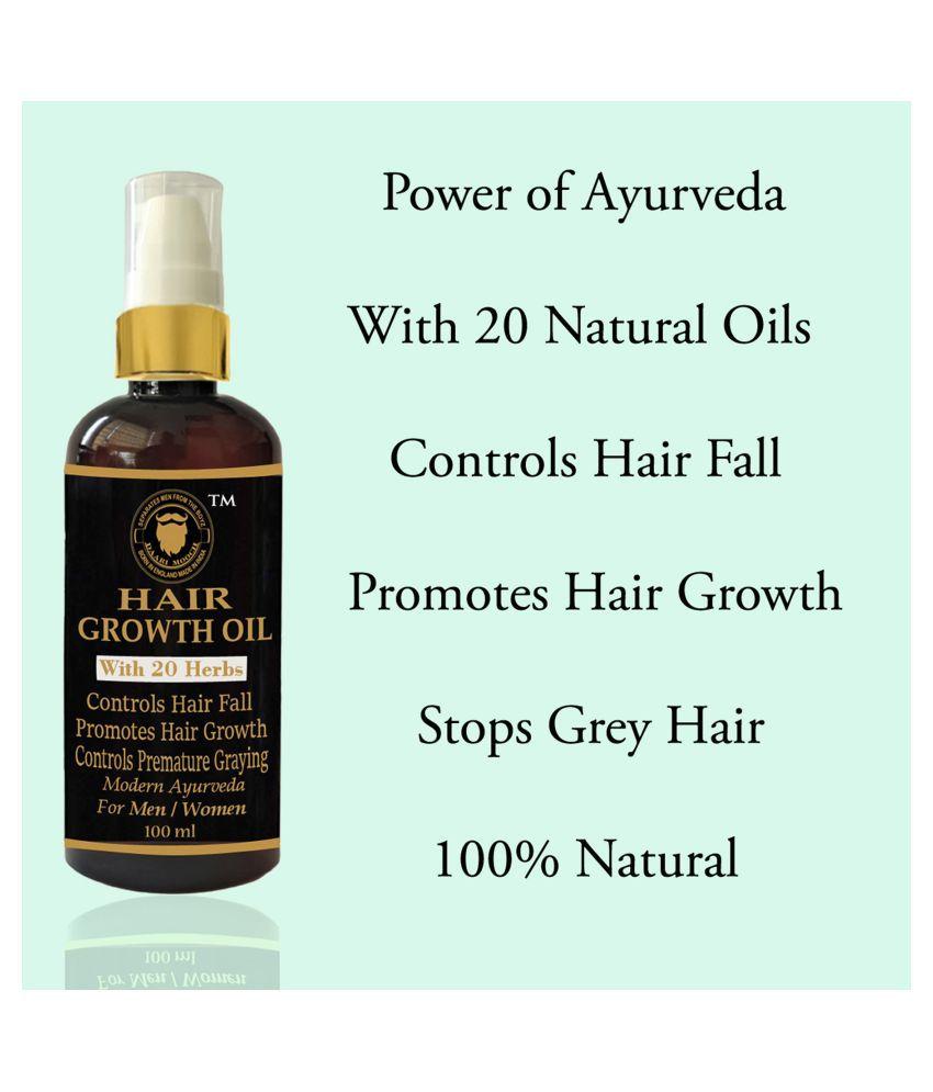 DAARIMOOCH Hair Fall Control Oil - Hair Growth Oil Natural 100 mL Pump Cardboard Box
