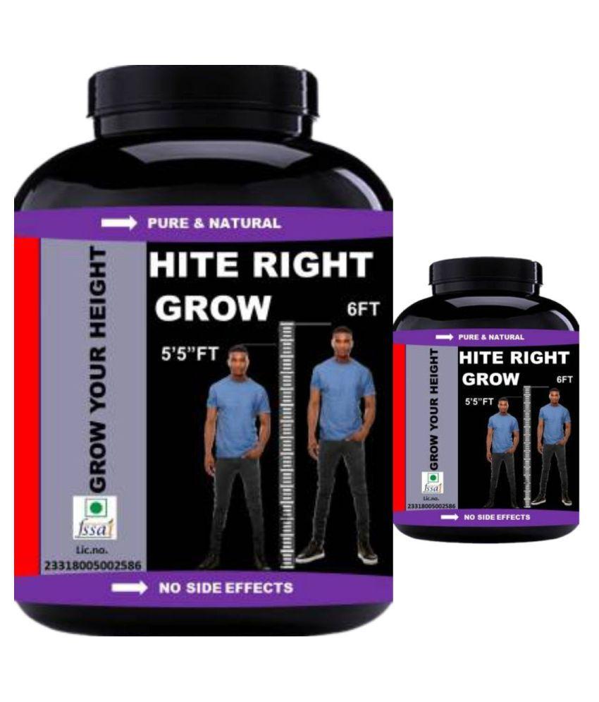 VITARA HEALTHCARE hite right grow 60 no.s Capsule Pack of 2