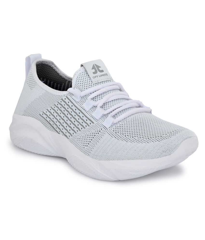 OFF LIMITS DRACO White Running Shoes