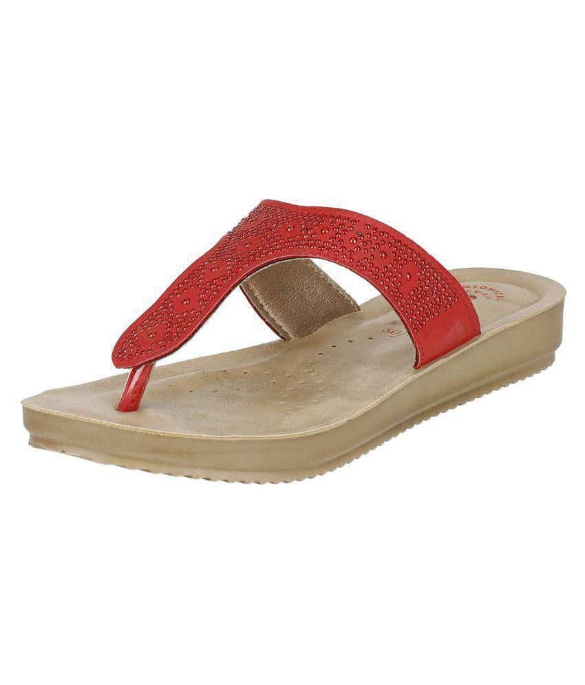 Inblu Red Flats
