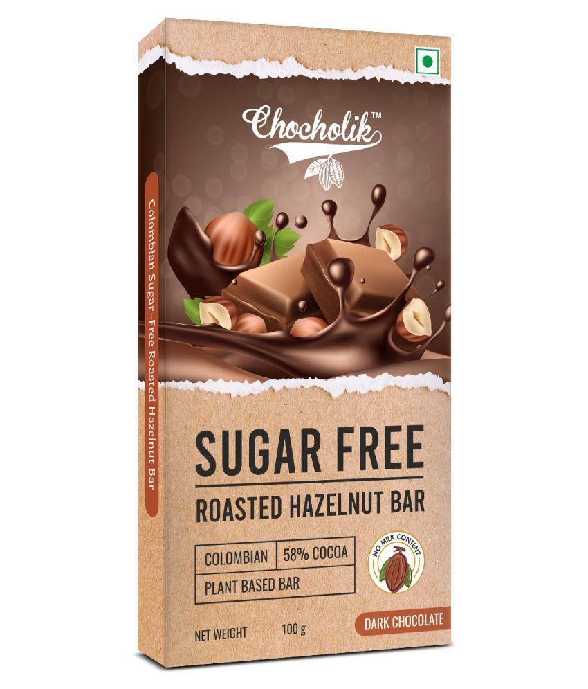 Chocholik Roasted Hazelut Filling Bar Assorted Box 100 gm