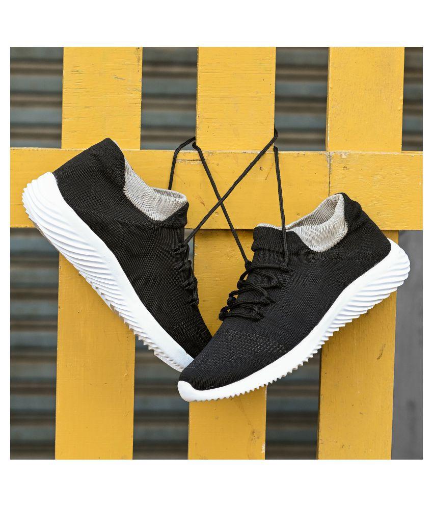 Bucik Black Running Shoes