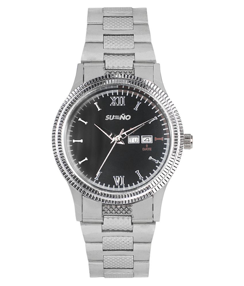 sueno Day and Date _1812 Stainless Steel Analog Men's Watch