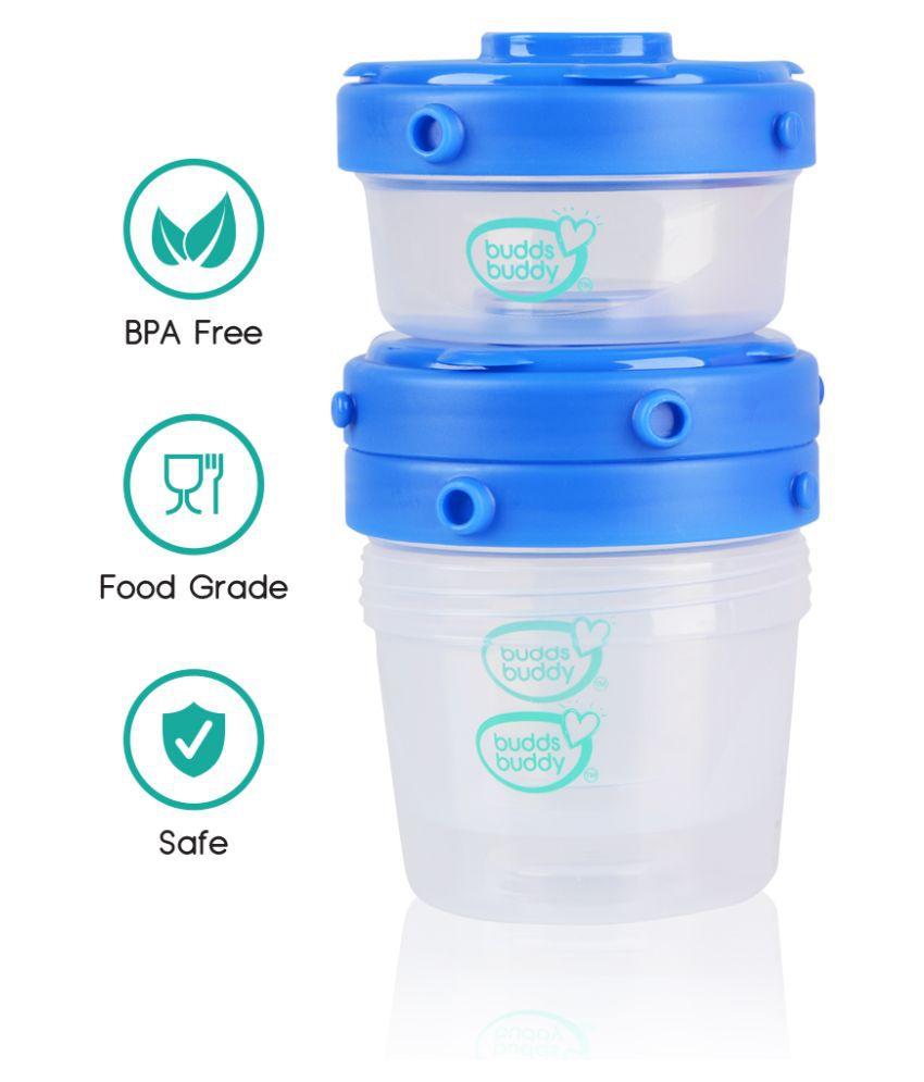 Buddsbuddy Polypropylene 2 pc Milk powder containers
