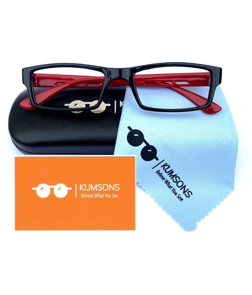 Kids Blue Cut & Anti-glare Computer Glasses   For Computer Mobile TV   Eye Protection   Zero Power   Brand - Kumsons