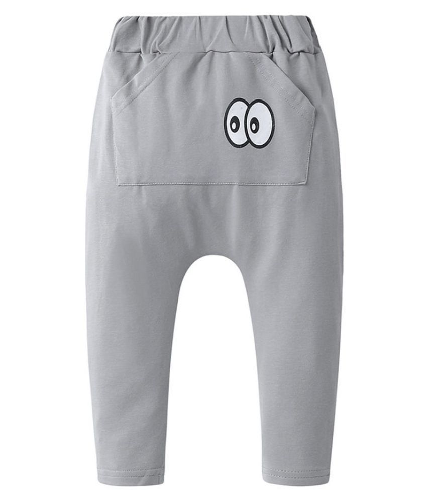 Hopscotch Baby Boy Cotton Printed Trackpant in  Color For Ages 18-24 Months (MTQ-3688423)