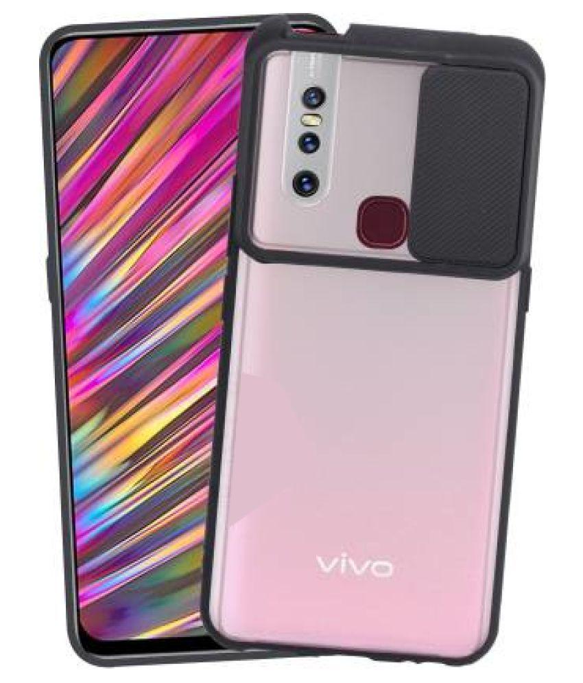 Vivo V15 Hybrid Covers Shining Stars - Black Hybrid Shutter Back Cover