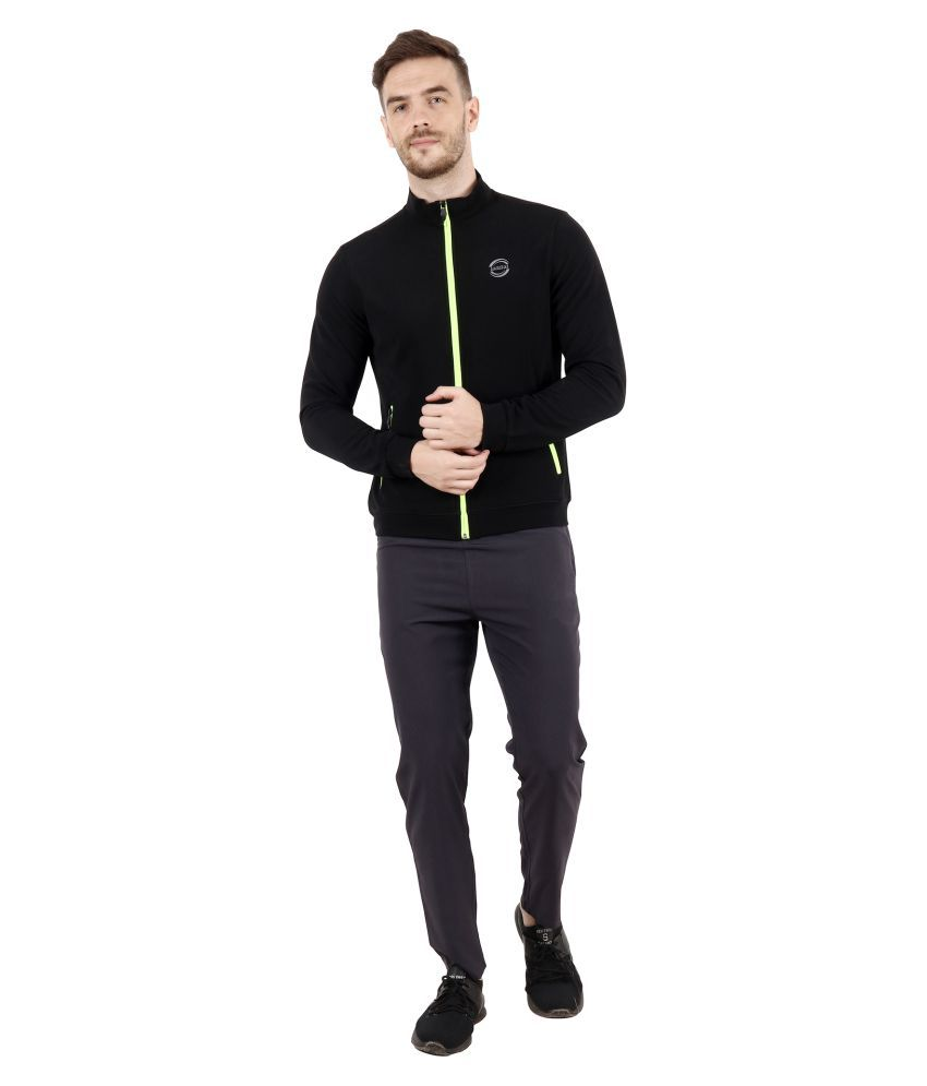 WAAW Black Polyester Jacket Single Pack