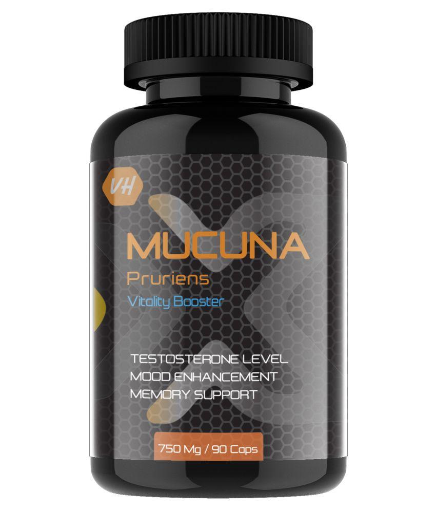Vitaminhaat Mucuna Pruriens 750 mg Capsule