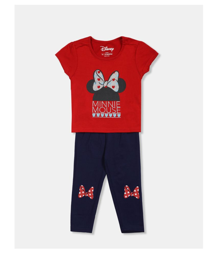 Colt Girls Assorted Minnie Mouse T-Shirt And Track Pants Set