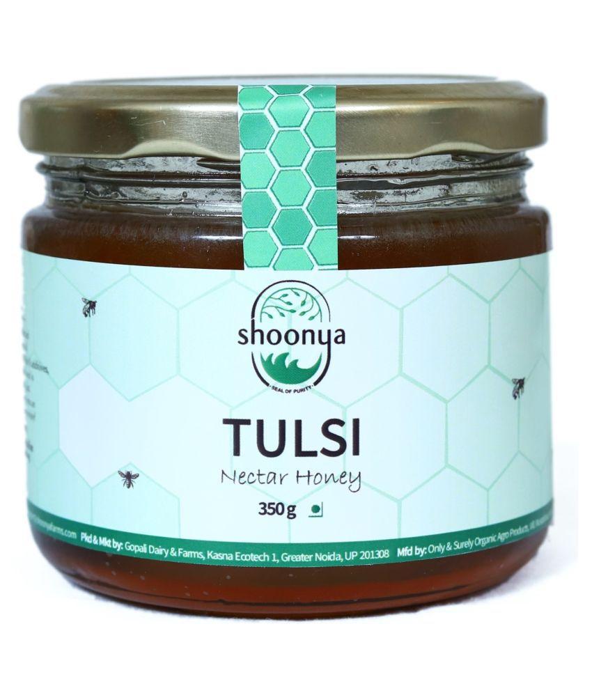 Shoonya Pure Tulsi Honey 350 g