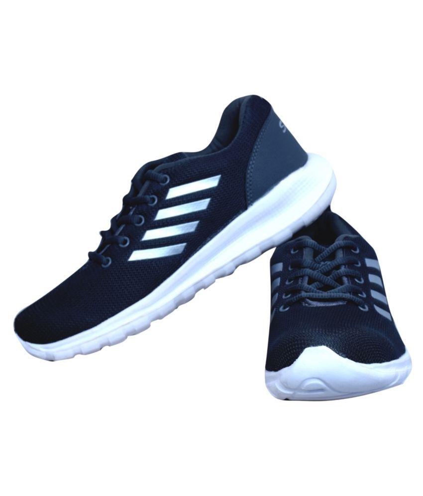 Crv Stylish Comfortable Navy Running Shoes