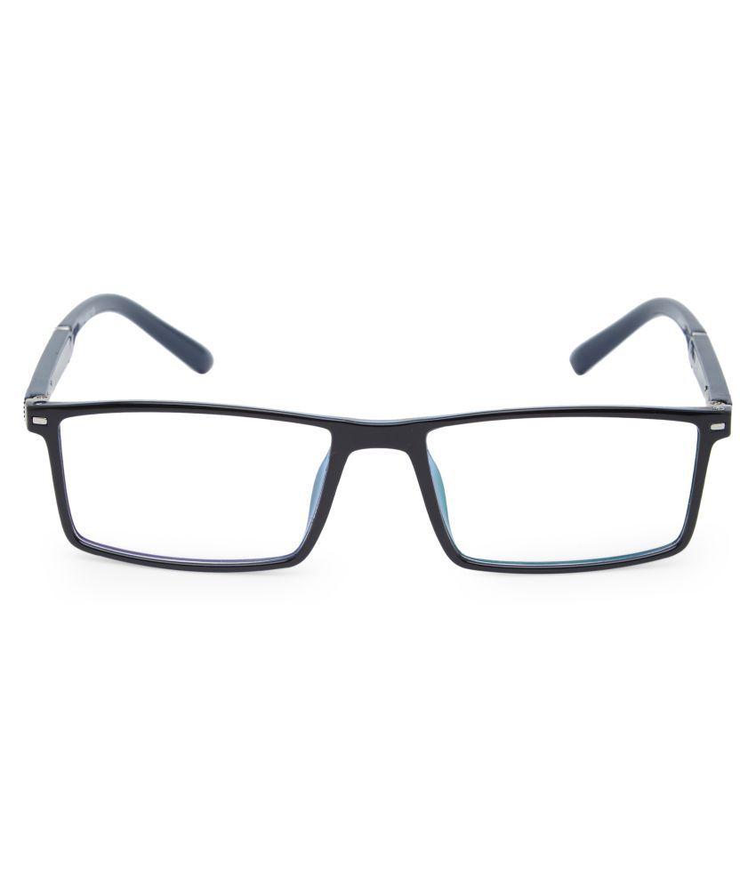 Unisex Blue Cut & Anti-glare Computer Glasses | For Computer Mobile TV | Eye Protection | Zero Power | Brand - Vast