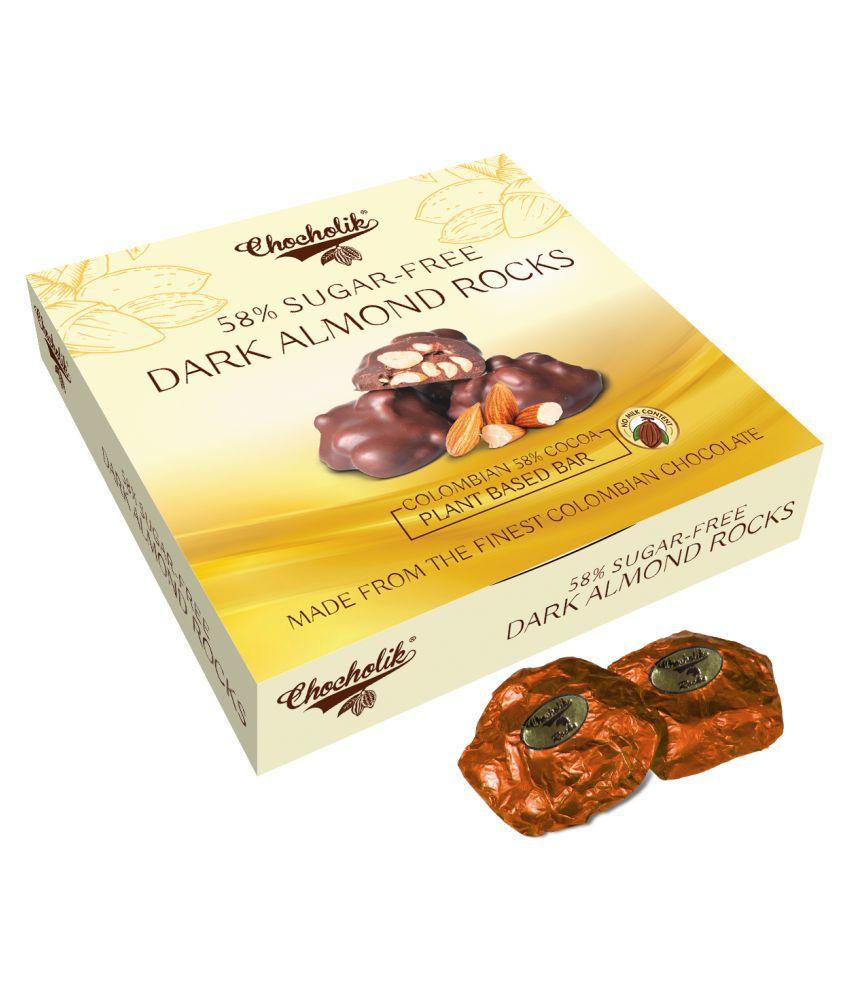 Chocholik Almond Rocks Chocolate Box 100 gm