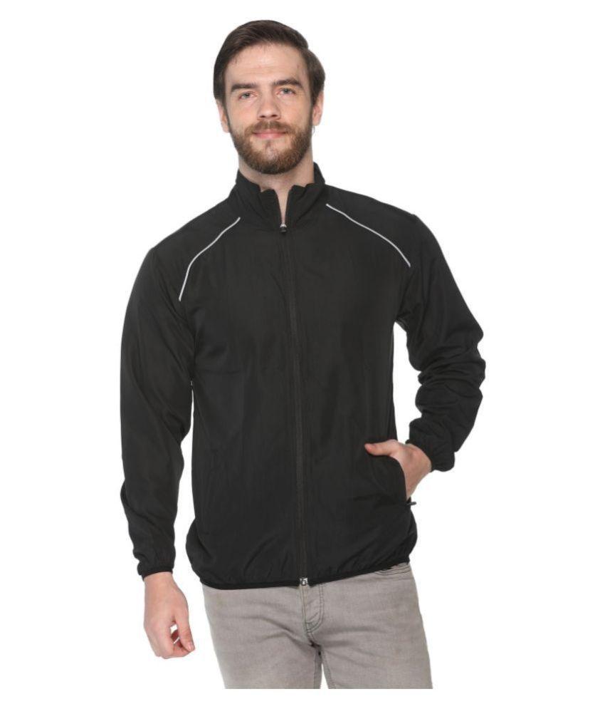 pikmee Black Polyester Jacket Single Pack