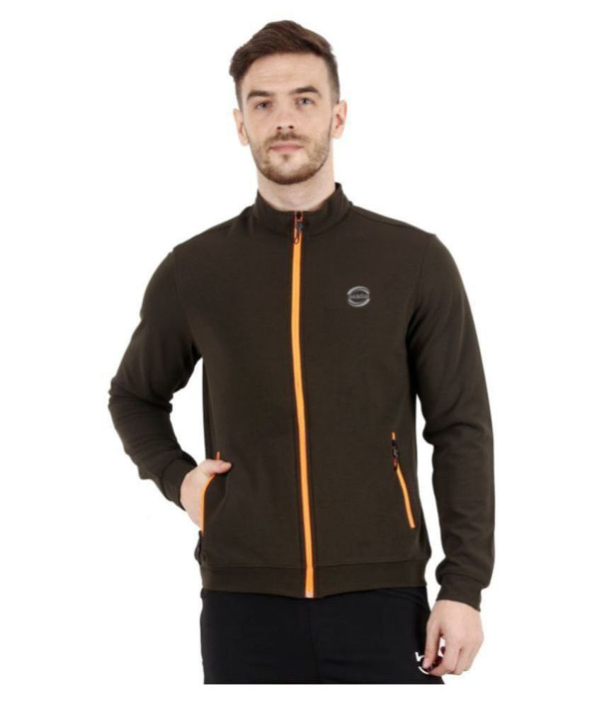 WAAW Olive Polyester Jacket Single Pack