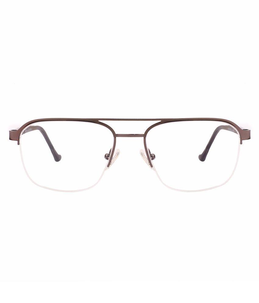 Unisex Blue Cut & Anti-glare Computer Glasses   For Computer Mobile TV   Eye Protection   Zero Power   Brand - ClearDekho