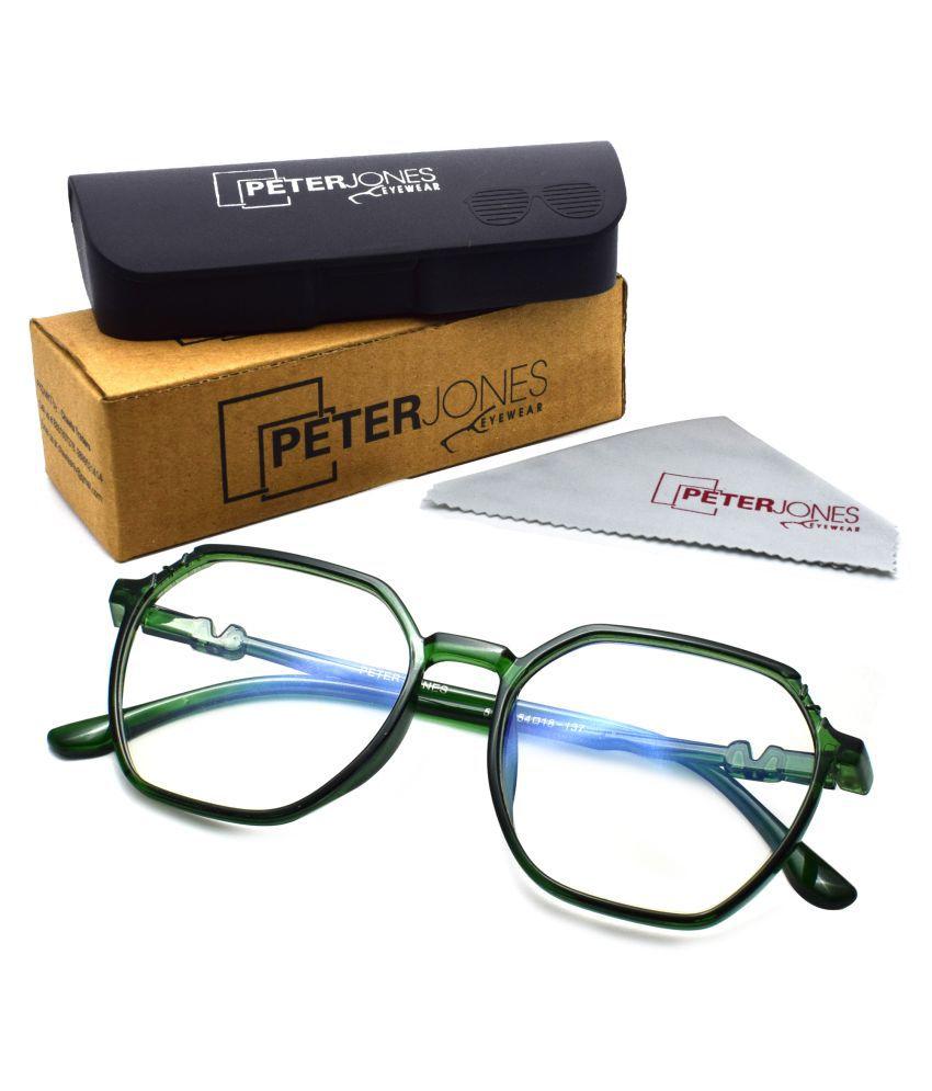 Peter Jones BlueCut Zero Power Computer Glasses For Eye Protection